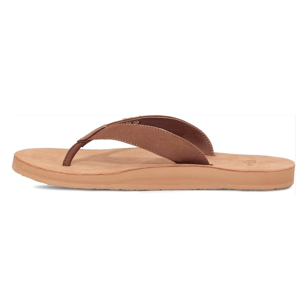 UGG Zehentrenner »Tawney«, mit Fußbett