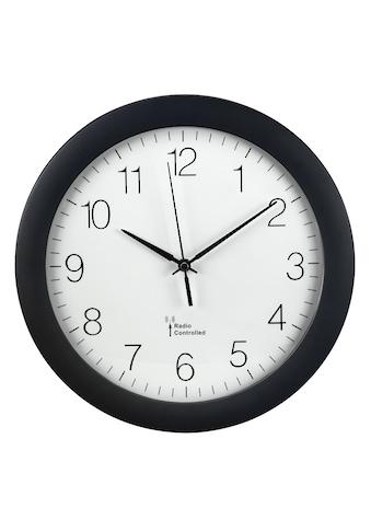 """Hama Wanduhr mit DCF-Funk """"PG-300"""", analoge Funkuhr, große Uhr kaufen"""