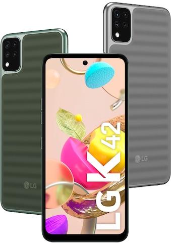 """LG Smartphone »K42«, (16,76 cm/6,6 """" 64 GB Speicherplatz, 13 MP Kamera) kaufen"""