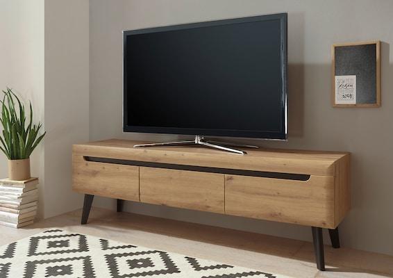 modernes TV-Board aus Holz