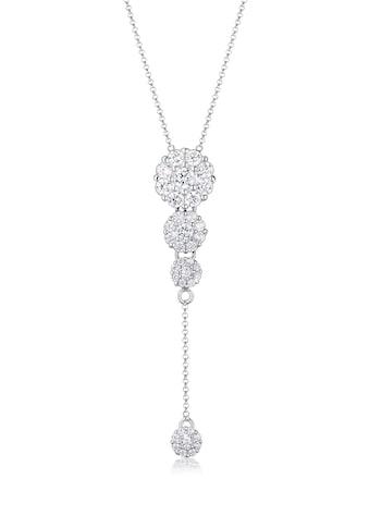 Elli Collierkettchen »Y-Kette Zirkonia Kristalle 925 Sterling Silber« kaufen