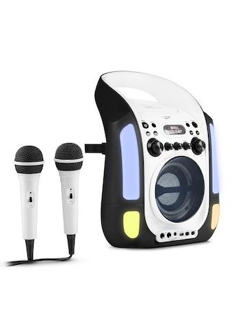 Auna Kinder Karaoke Anlage CD USB MP3 LED - Lichtshow Mikrofone »Kara Illumina« kaufen