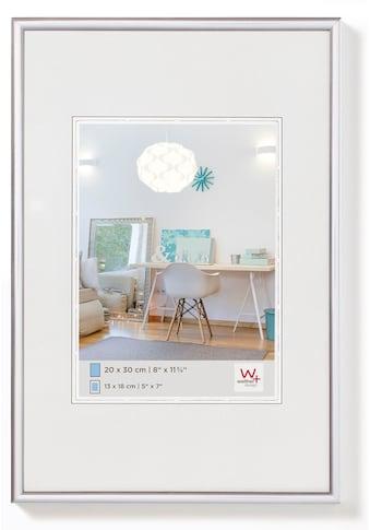 Walther Bilderrahmen »New Lifestyle Kunststoffrahmen 30 x 40 cm, SILBER«, (1 St.) kaufen