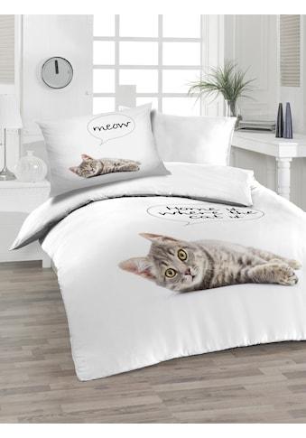 Florella Bettwäsche »Cat, Soft-Renforcé« kaufen