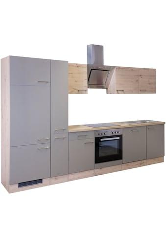 Flex-Well Küchenzeile »Riva«, mit E-Geräten, Gesamtbreite 310 cm kaufen
