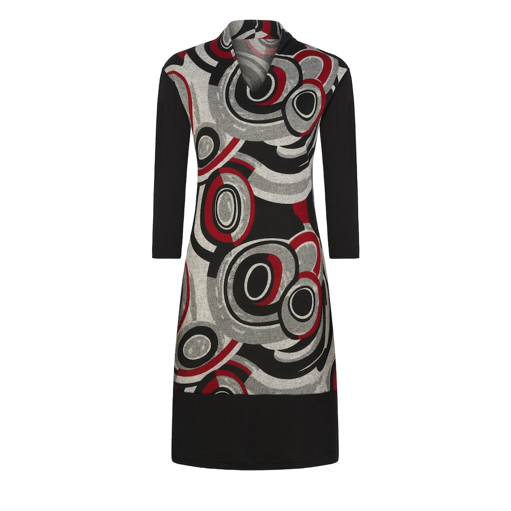 MILLION-X A-Linien-Kleid »langarm«