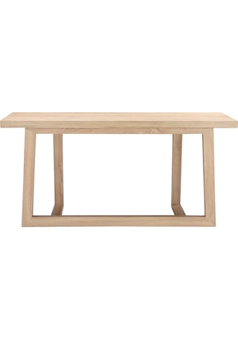 andas Konsolentisch »Sloan«, mit einem besonderen Beingestell, mit einer schönen Holzoptik Tischplatte, Design by Morten Georgsen kaufen