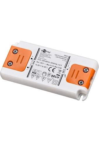 Goobay LED-Trafo 24 V (DC) /12 W kaufen