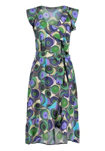 Nicowa Sommerliches Kleid NAVILLA mit Volants und Allover - Muster kaufen