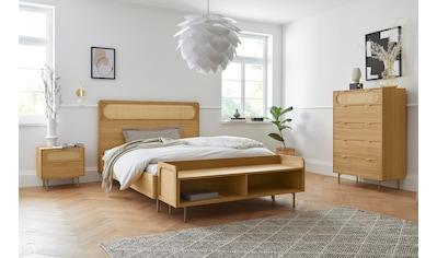 andas Bett »Liselle«, Design by Morten Georgsen, mit Wiener Geflecht im Kopfteil kaufen