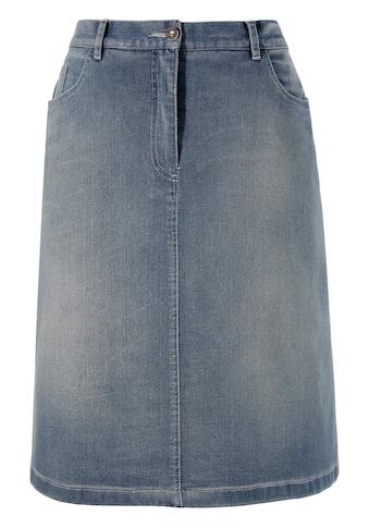 Trachtenrock mit seitlichem Elastikeinsatz kaufen