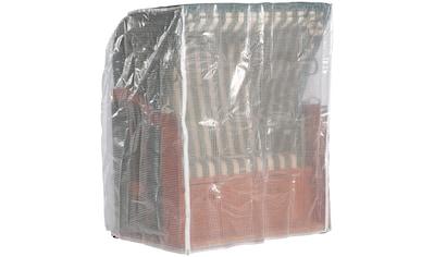 Sonnen Partner Strandkorb-Schutzhülle, für Strandkörbe, BxLxH: 144x114x154 cm, steingrau kaufen