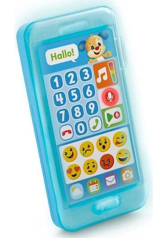 Fisher-Price® Spieltelefon »Lernspaß Hündchens Smart Phone«, mit Licht- und Soundeffekten kaufen