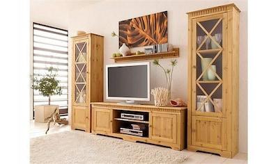 Wohnwand »Lisa«, (Set, 3 tlg.), bestehend aus zwei Vitrinen und einem Lowboard, aus... kaufen