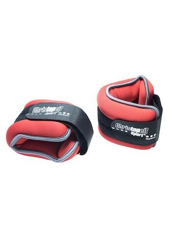 Christopeit Sport® Gewichtsmanschette »Gewichtsmanschette 2 x 1,0 kg«, 2,0 kg, (Set, 2 tlg.) kaufen