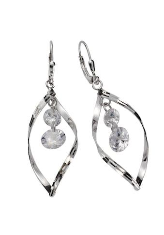 Vivance Paar Ohrhänger »925/- Sterling Silber Zirkonia«, rhodiniert kaufen