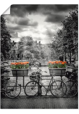 Artland Wandbild »Amsterdam Herengracht & Sonnenstrahlen« kaufen