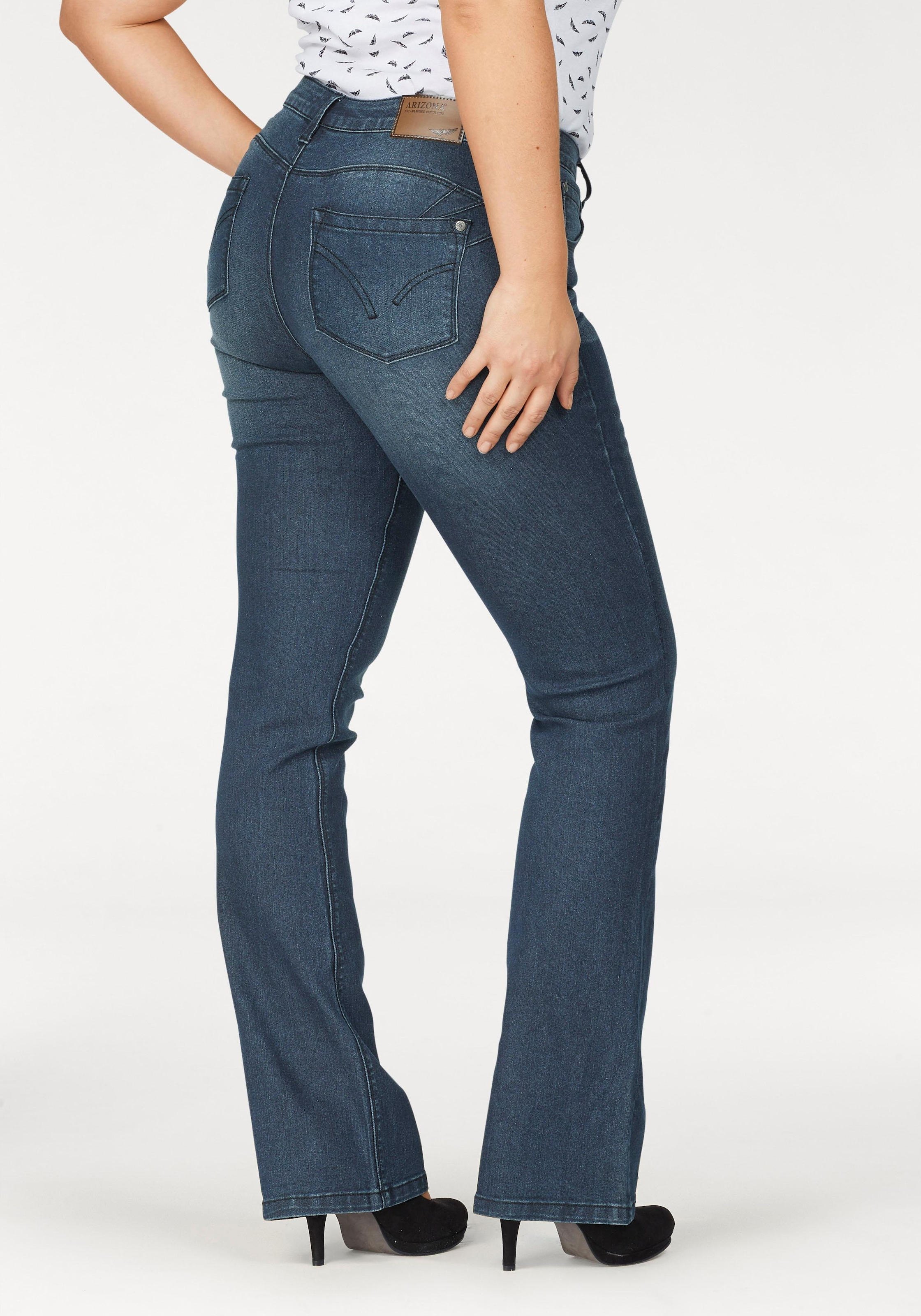 Arizona Bootcut Jeans »Shaping«