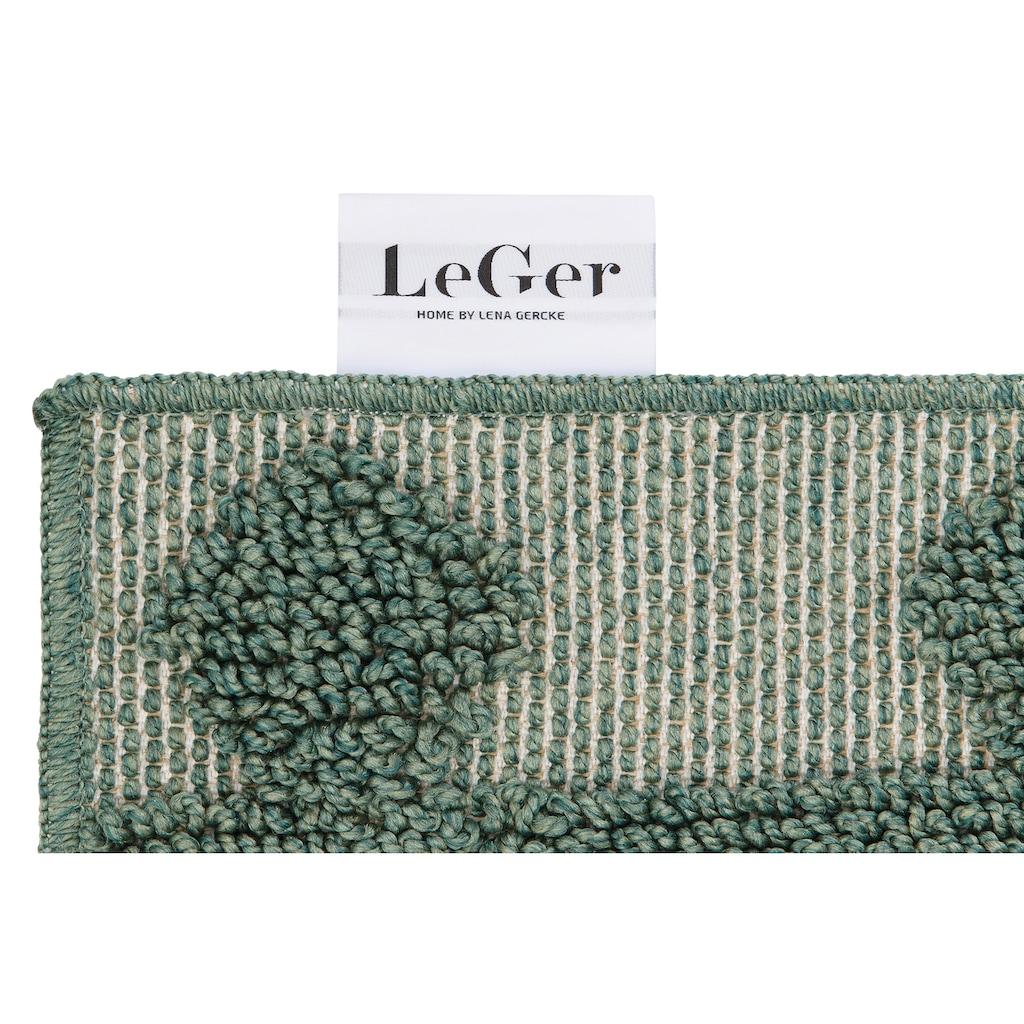 LeGer Home by Lena Gercke Teppich »Askja«, rechteckig, 18 mm Höhe, mit Woll-Look, Wohnzimmer