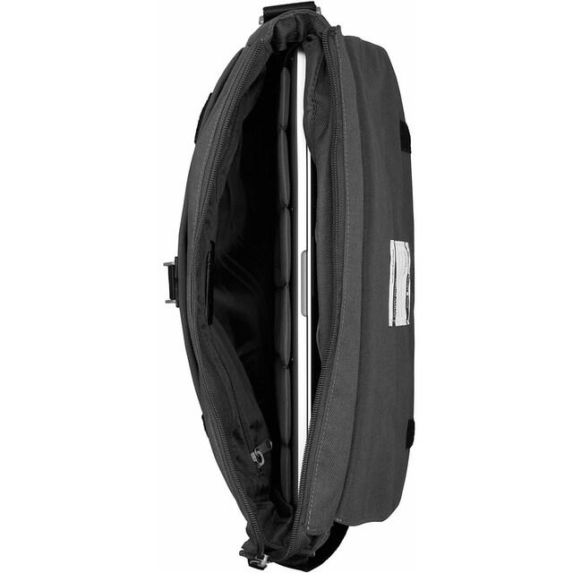 Cargo Businesstasche »Cargo 302, schwarz mit Struktur, L«