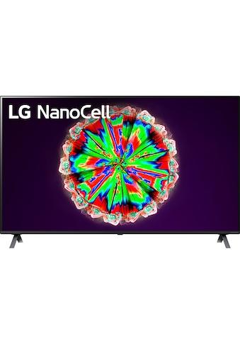 "LG LED-Fernseher »55NANO806NA«, 139 cm/55 "", 4K Ultra HD, Smart-TV, NanoCell kaufen"