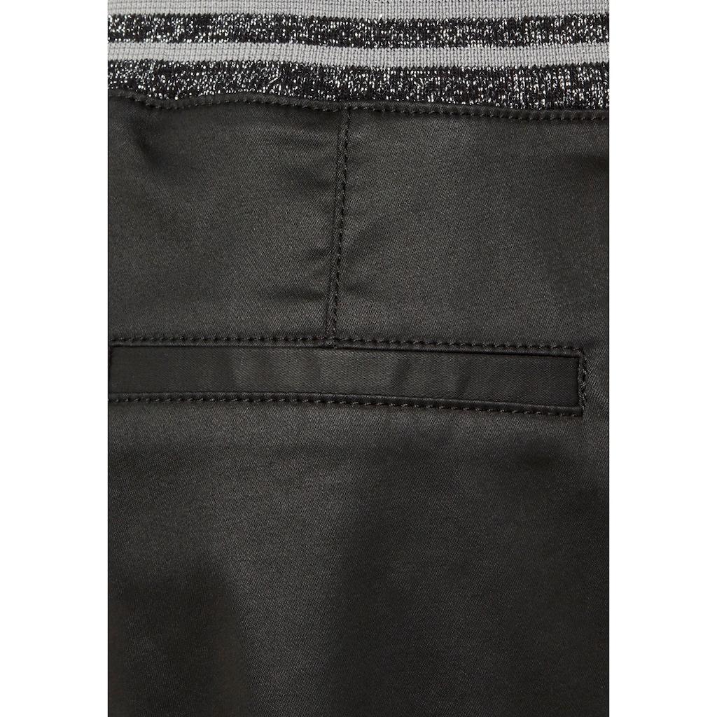 Mavi Schlupfhose »NEA-MA«, mit edel matt glänzender Beschichtung