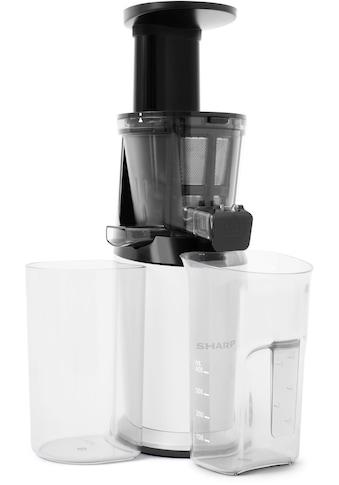 Sharp Slow Juicer SA - FJ3001W, 150 Watt kaufen