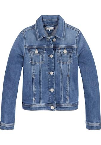 TOMMY HILFIGER Jeansjacke »REGULAR TRUCKER«, in klassischer Basicform kaufen