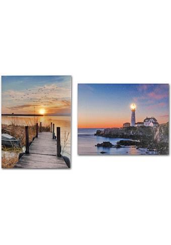 Home affaire LED - Bild (Set) kaufen