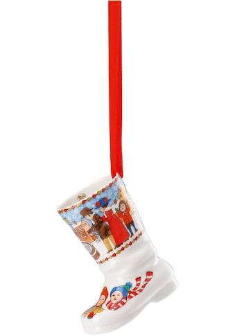 Hutschenreuther Dekohänger »Weihnachtsmarkt«, Porzellanstiefel 2019 kaufen