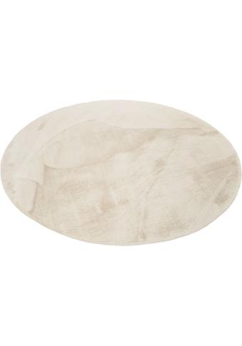 Hochflor - Teppich, »Alice«, Esprit, rund, Höhe 25 mm, maschinell getuftet kaufen