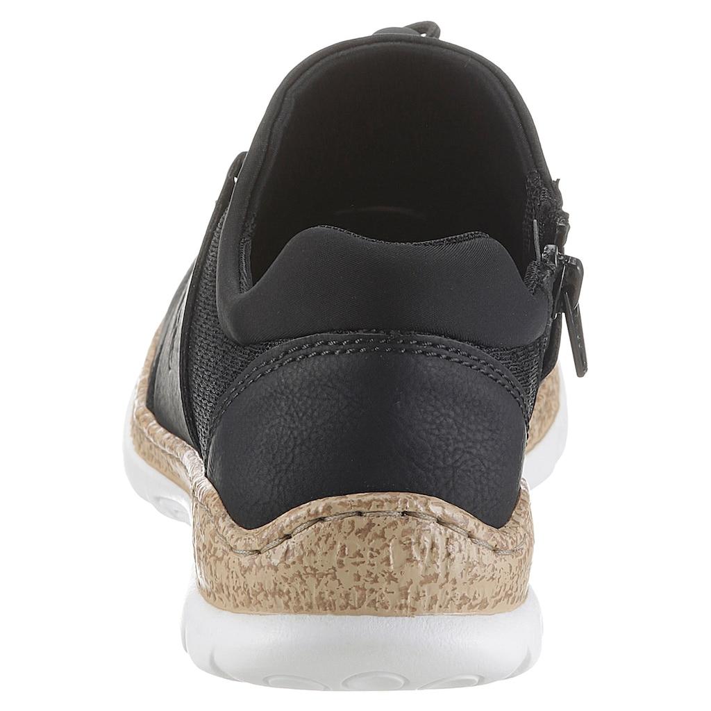 Rieker Slip-On Sneaker, mit komforablem Stretcheinstieg