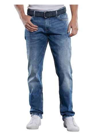 Engbers Stretch-Jeans, mit Waschungen kaufen