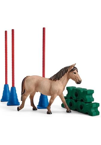 Schleich® Spielfigur »Farm World, Pony Slalom (42483)« kaufen