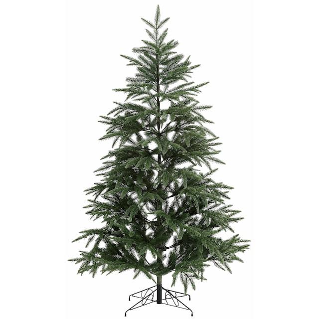 Ø 81 cm x 150 cm Home Affaire künstlicher Weihnachtsbaum,in edlem weiß