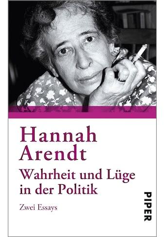 Buch »Wahrheit und Lüge in der Politik / Hannah Arendt« kaufen