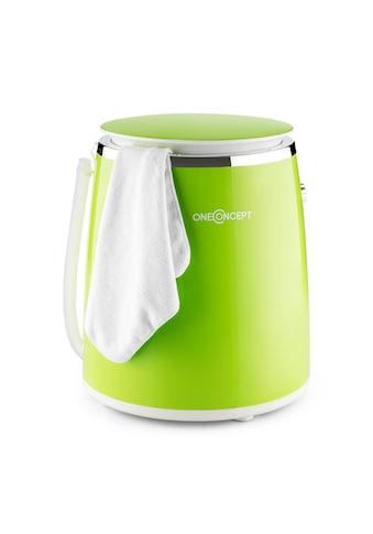 ONECONCEPT Mini Waschmaschine Schleuderfunktion Wäscheschleuder 3,5kg 380W kaufen