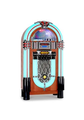 Auna American Retro Jukebox Musikbox CD - Player USB MP3 SD Radio »Graceland - XXL« kaufen