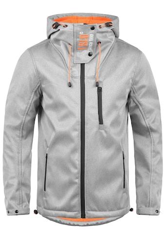 Solid Softshelljacke »Iacopo«, Übergangsjacke mit kontrastfarbener Fleece-Innenseite kaufen