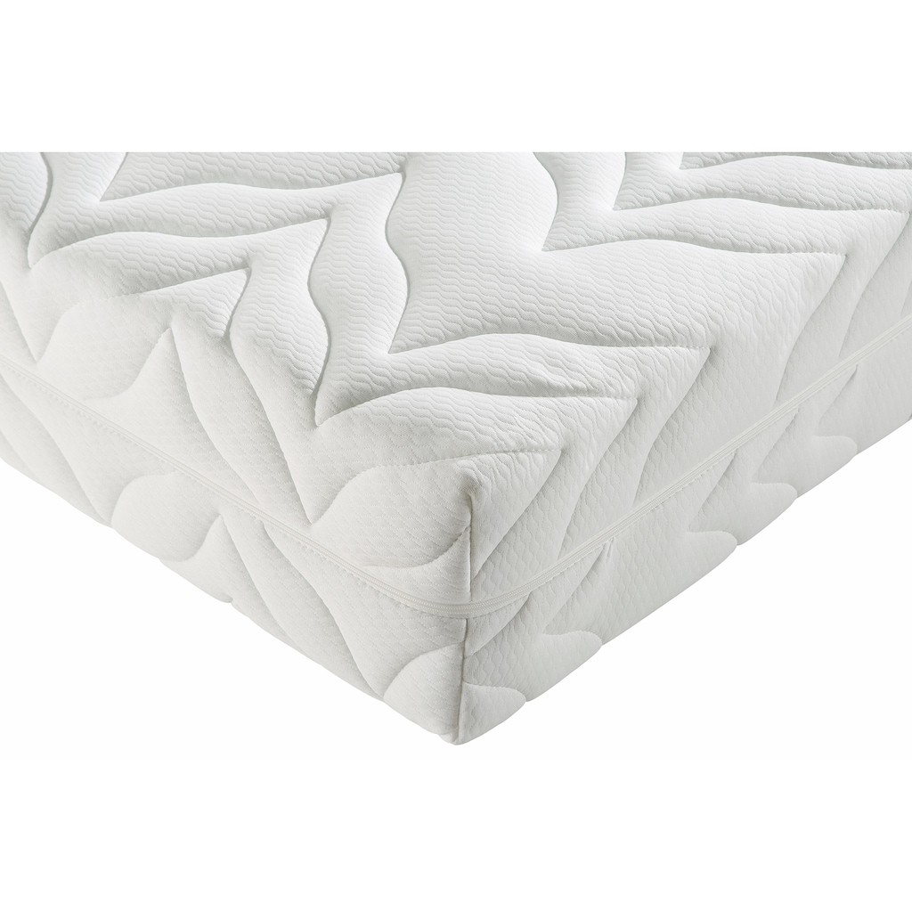 Taschenfederkernmatratze + Lattenrost »Tendenz K«, Breckle, Anzahl Federn: 1000 (Set)