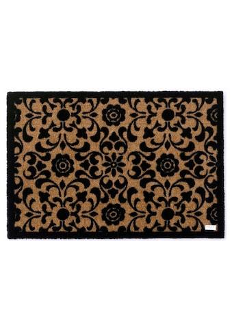 Zala Living Fußmatte »Ornament«, rechteckig, 7 mm Höhe, Fussabstreifer, Fussabtreter, Schmutzfangläufer, Schmutzfangmatte, Schmutzfangteppich, Schmutzmatte, Türmatte, Türvorleger kaufen