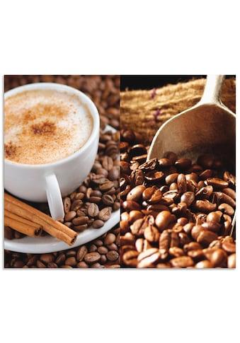 Artland Küchenrückwand »Kaffee - Cappuccino - Heißer Kaffee«, selbstklebend in vielen... kaufen