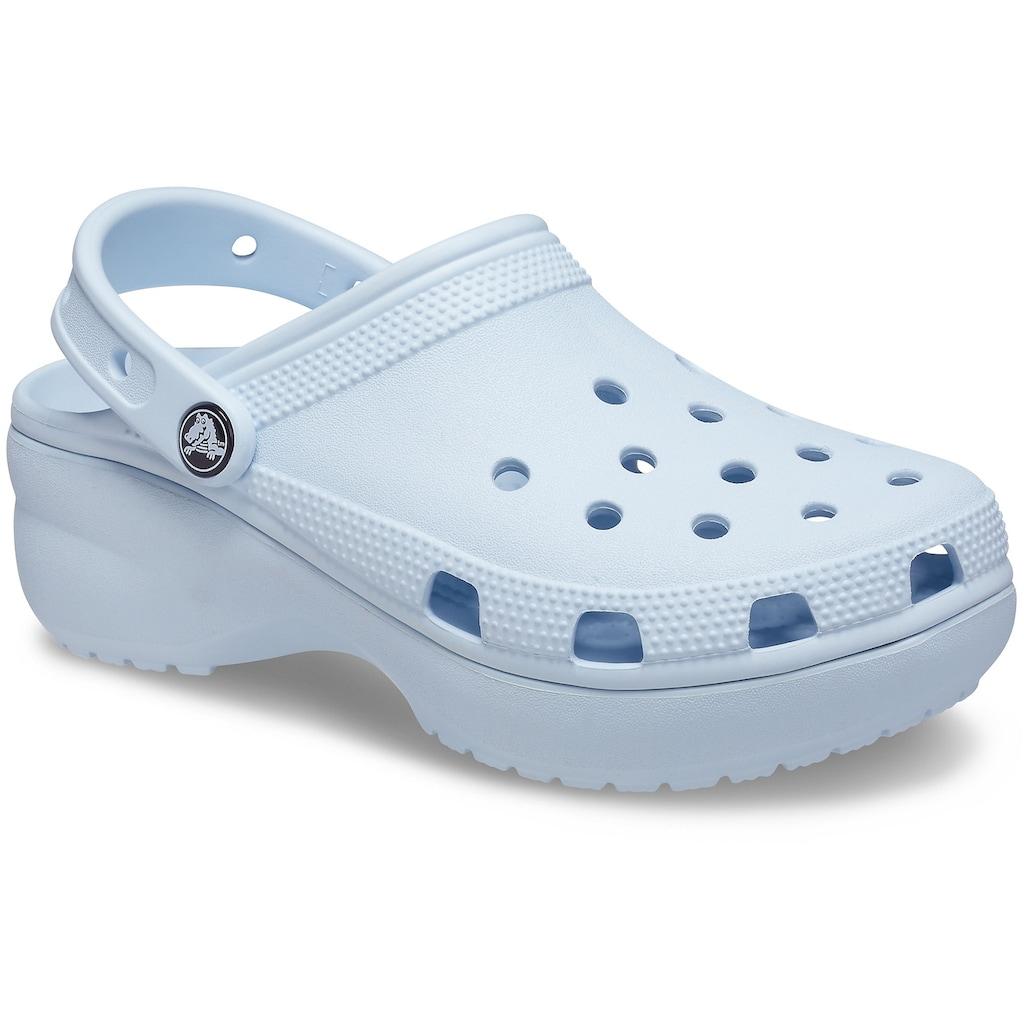Crocs Clog »Classic Platform Clog W«, mit trendiger Plateausohle