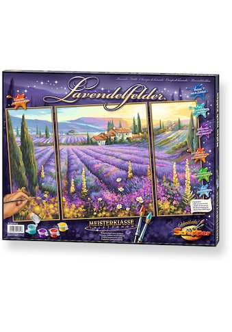 """Schipper Malen nach Zahlen """"Meisterklasse Triptychon Lavendelfelder"""" kaufen"""