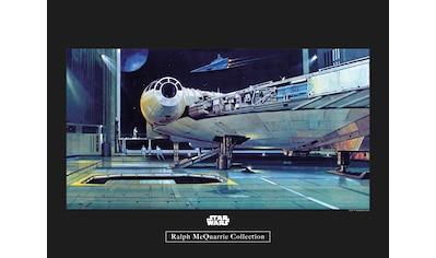 Komar Poster »Star Wars Classic RMQ Falcon Hangar«, Star Wars kaufen