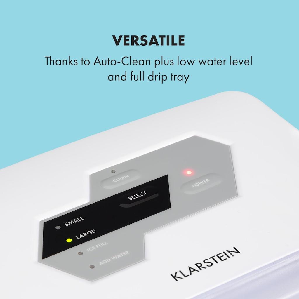 Klarstein Eiswürfelmaschine Klareis 20kg/24h Wassertank:
