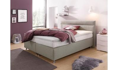 Westfalia Schlafkomfort Boxspringbett, wahlweise mit LED-Beleuchtung kaufen