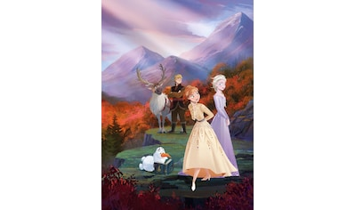 Komar Fototapete »Frozen spring is coming«, bedruckt-Comic, ausgezeichnet lichtbeständig kaufen