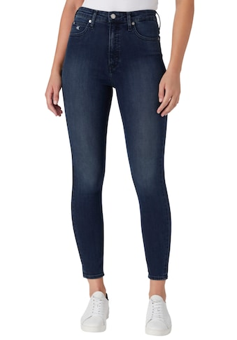 Calvin Klein Jeans Skinny-fit-Jeans »HIGH RISE SUPER SKINNY ANKLE«, mit Calvin Klein... kaufen