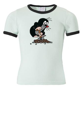 LOGOSHIRT T-Shirt »Der Kleine Maulwurf«, mit tollem Frontdruck kaufen